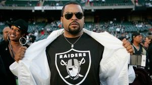 "Get it? Because I said ""ice cube"" in reference to the Raiders. Damn, that's comedy."