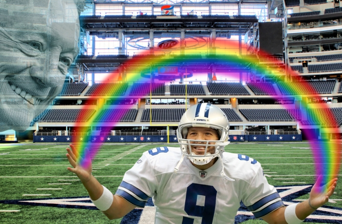 Romo equals love...