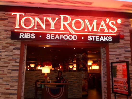 Oh...Tony ROMA's...oops.