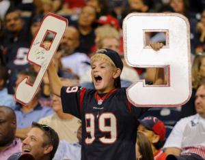 There's more than one player on the Texans...oh wait, no there's not.