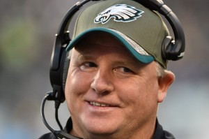 """Chip Kelly knows you're joking because Chip Kelly hasn't lost any games and wouldn't get fired. Now if you'll excuse Chip Kelly, Chip Kelly needs to go suck Chip Kelly's dick."""